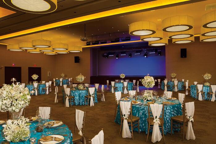 back up wedding location Dreams Las Mareas ballroom
