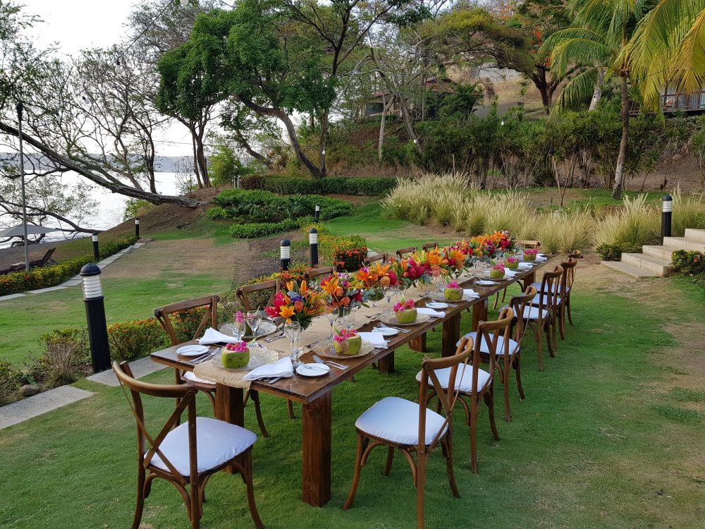 Spa Garden Tropical Wedding Reception Secrets Papagayo