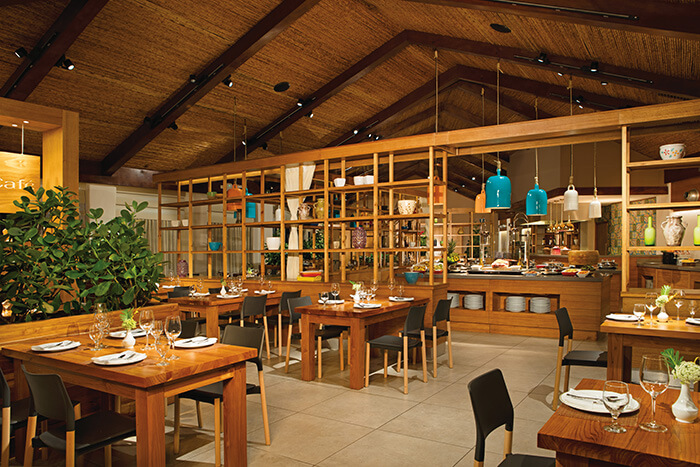main buffet restaurants at the Secrets Papagayo in Costa Rica