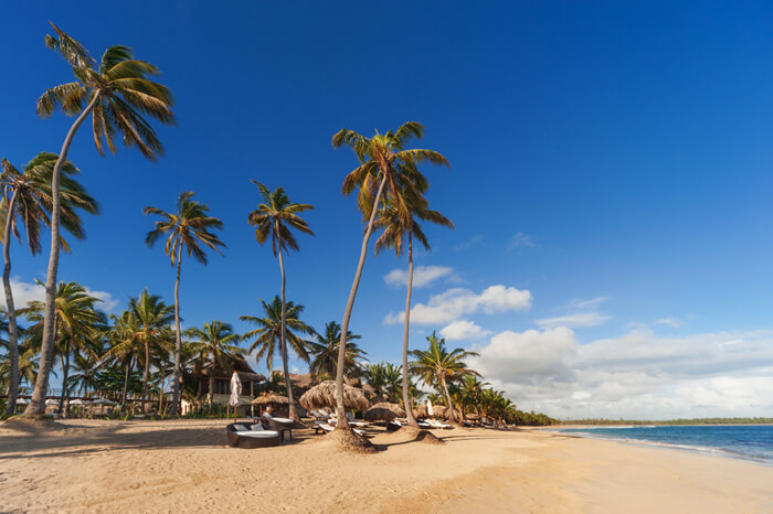 Pristinewhite sand beach at the Zoetry Agua Punta Cana