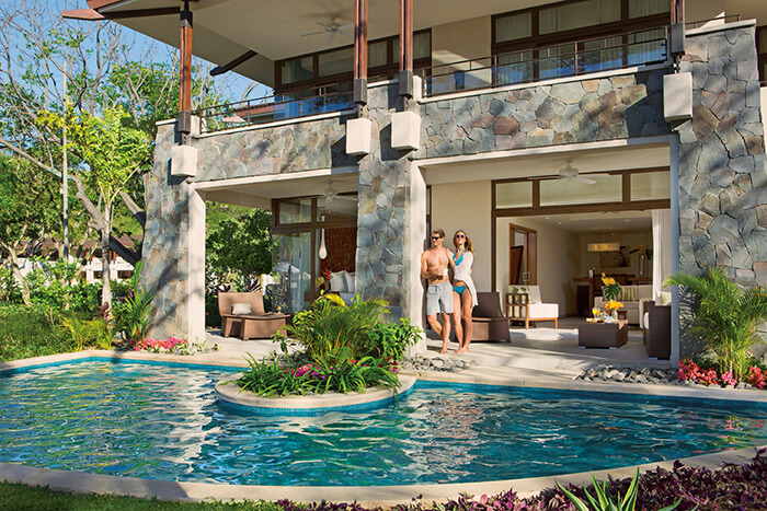 dreams las mareas in costa rica offers swim out suites