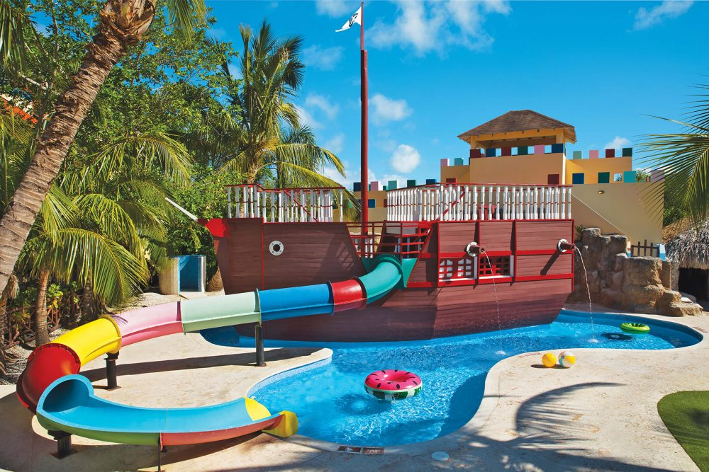 kids water slide dreams punta cana