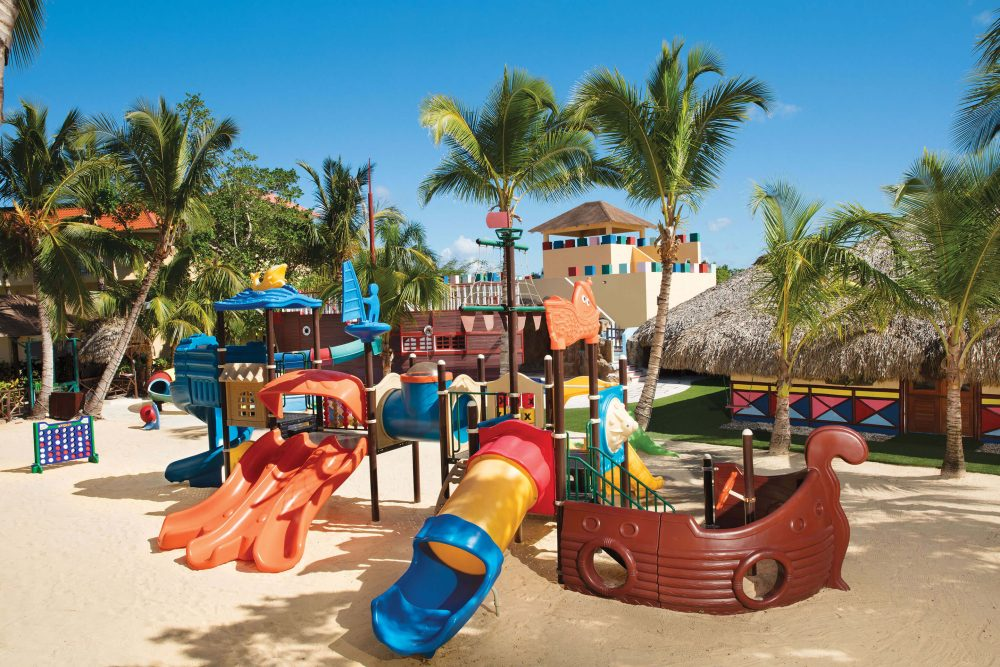kids play area at the dreams punta cana