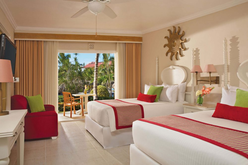 deluxe rooom at the dreams punta cana