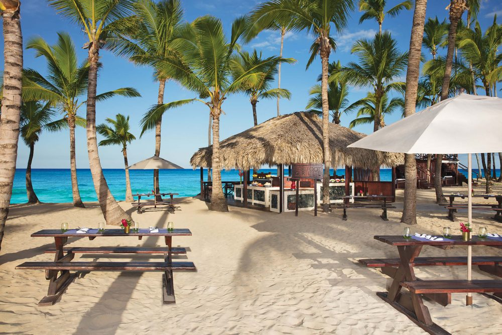 beach side restaurant dreams punta cana
