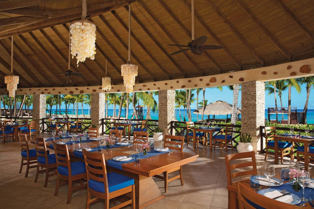 oceana restaurant at the dreams punta cana