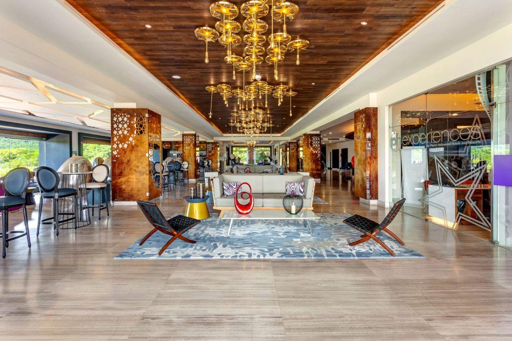 Planet Hollywood Costa Rica lobby area