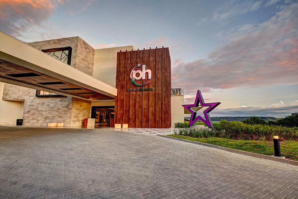 main entrance at the Planet Hollywood Costa Rica