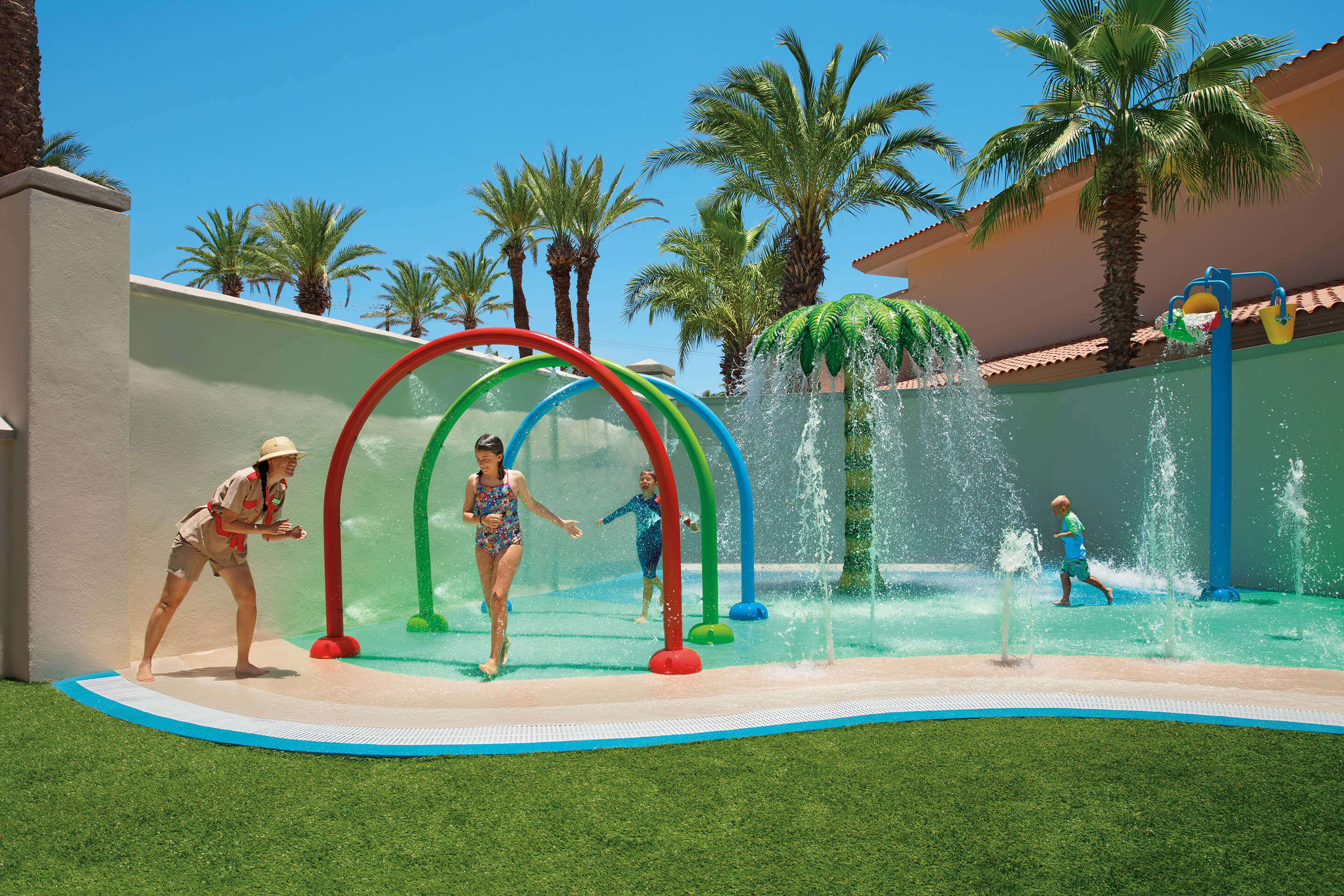 kids play area at the kids club Dreams Los Cabos