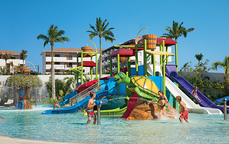 kids water park area Dreams Playa Mujeres