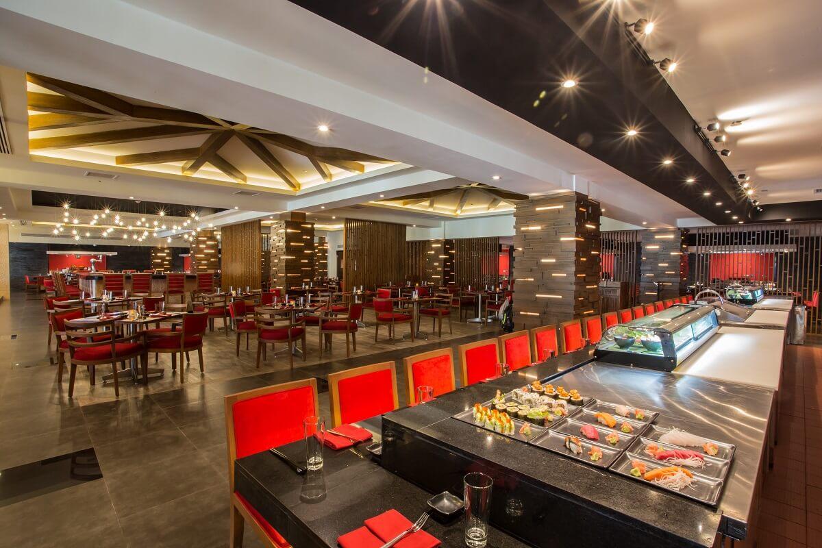 sushi bar restaurant at the Hyatt Ziva Los Cabos