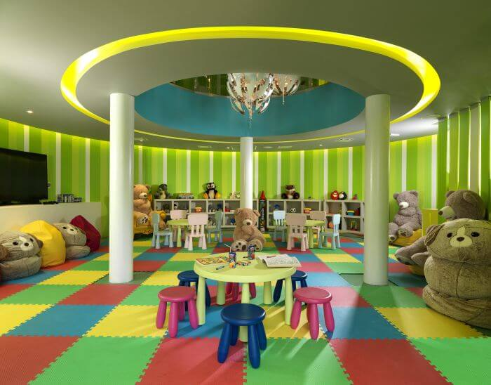 kids club interior at the paradisus los cabos
