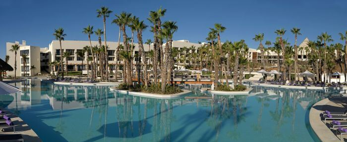 pool areas at the paradisus los cabos