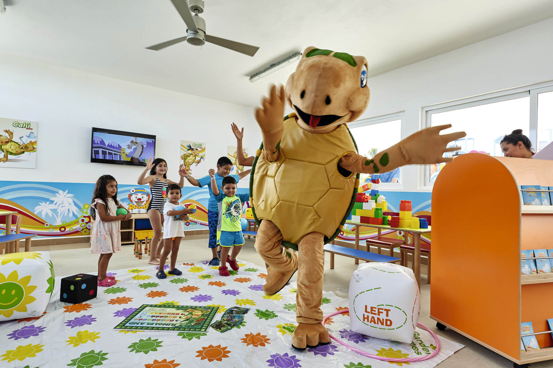 indoor riuland kids club riu dunamar in costa mujeres
