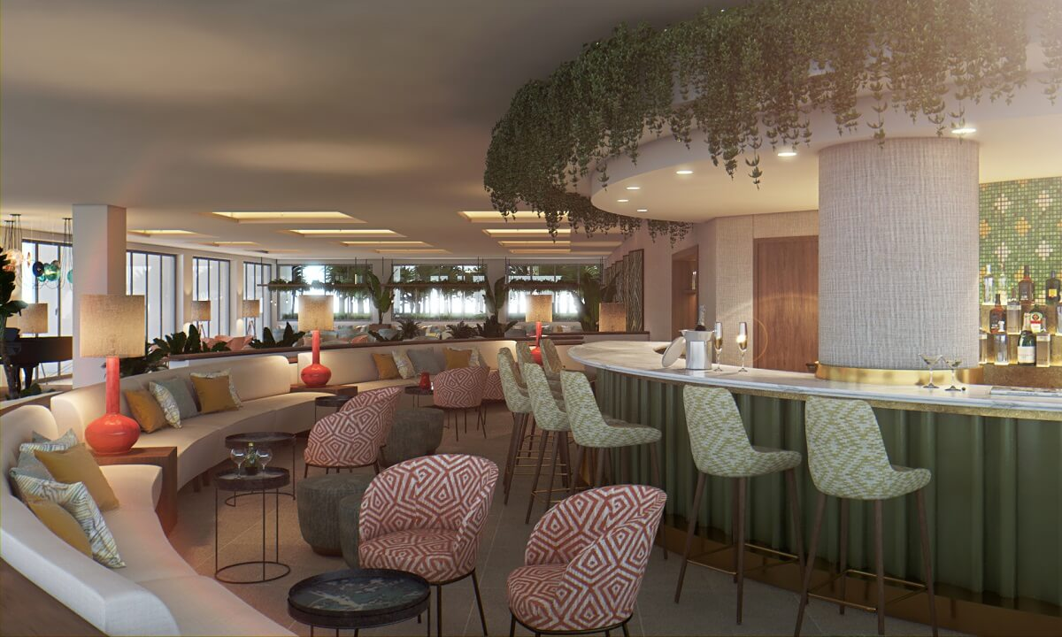 render of the piano bar majestic elegance playa mujeres