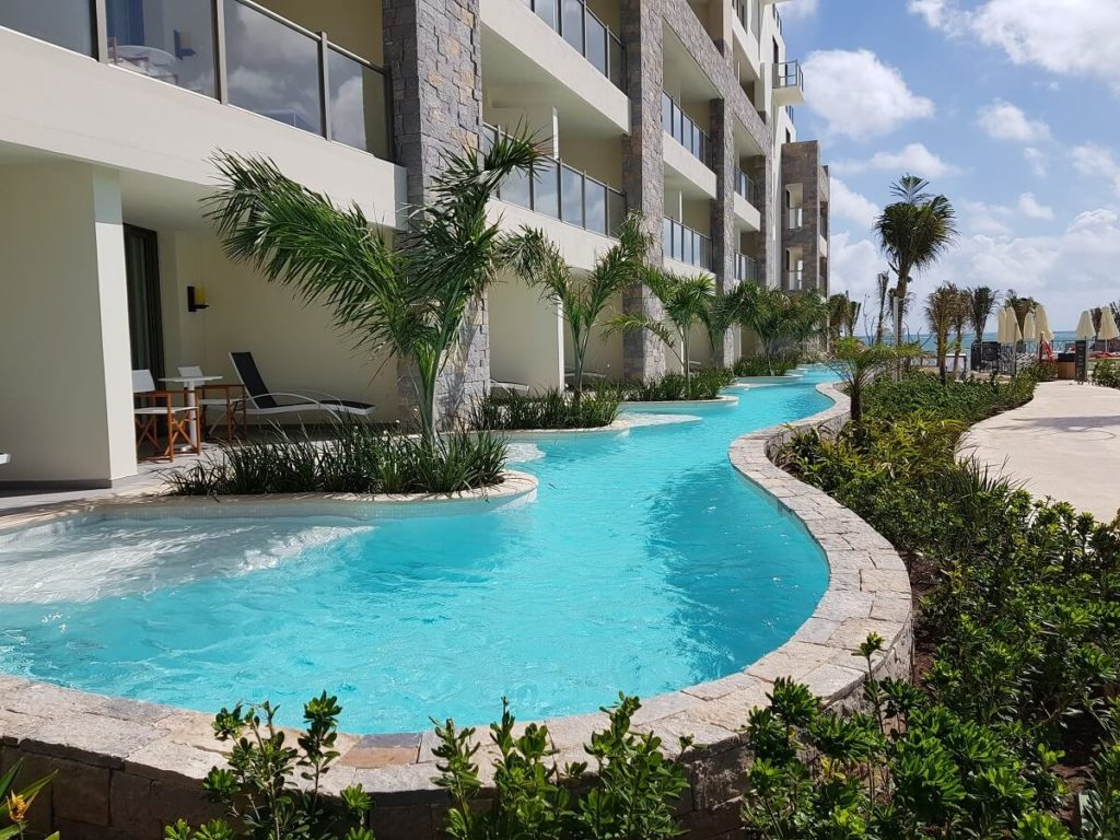 swim out rooms at Now Natura