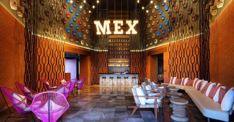adelita mexican lounge Palladium Costa Mujeres
