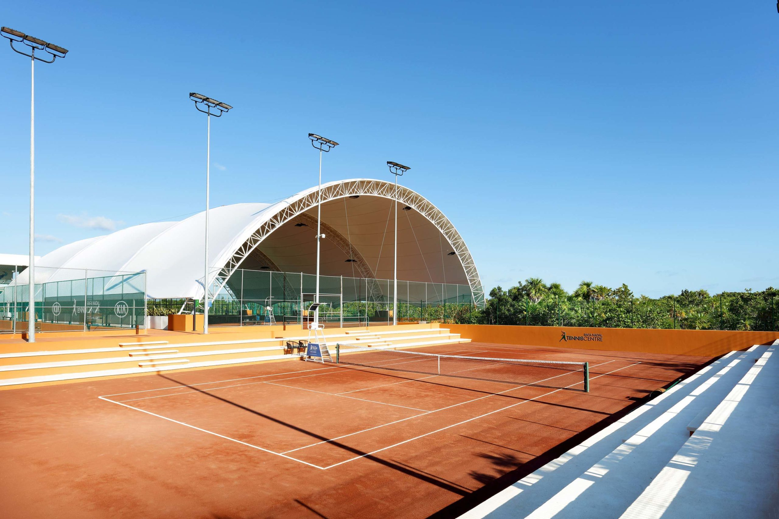 tennis center for TRS and Palladium Costa Mujeres