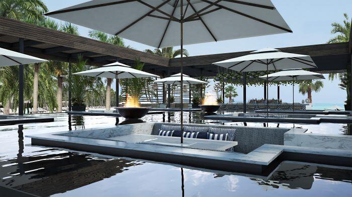 adult only beach club Paradisus Playa Mujeres
