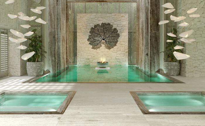 spa at the Paradisus Playa Mujeres