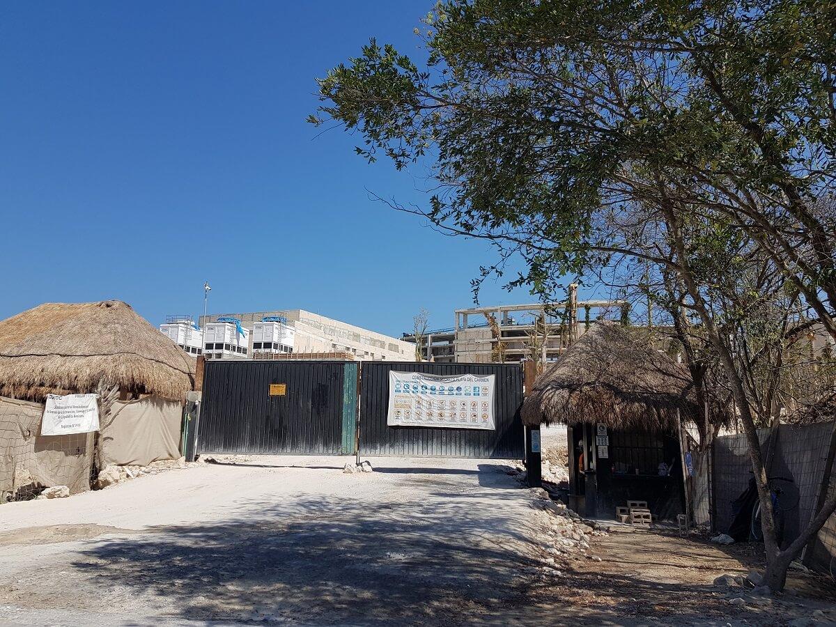 Secrets Playa del Carmen under construction march 2020