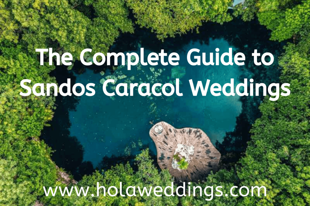 weddings guide sandos caracol