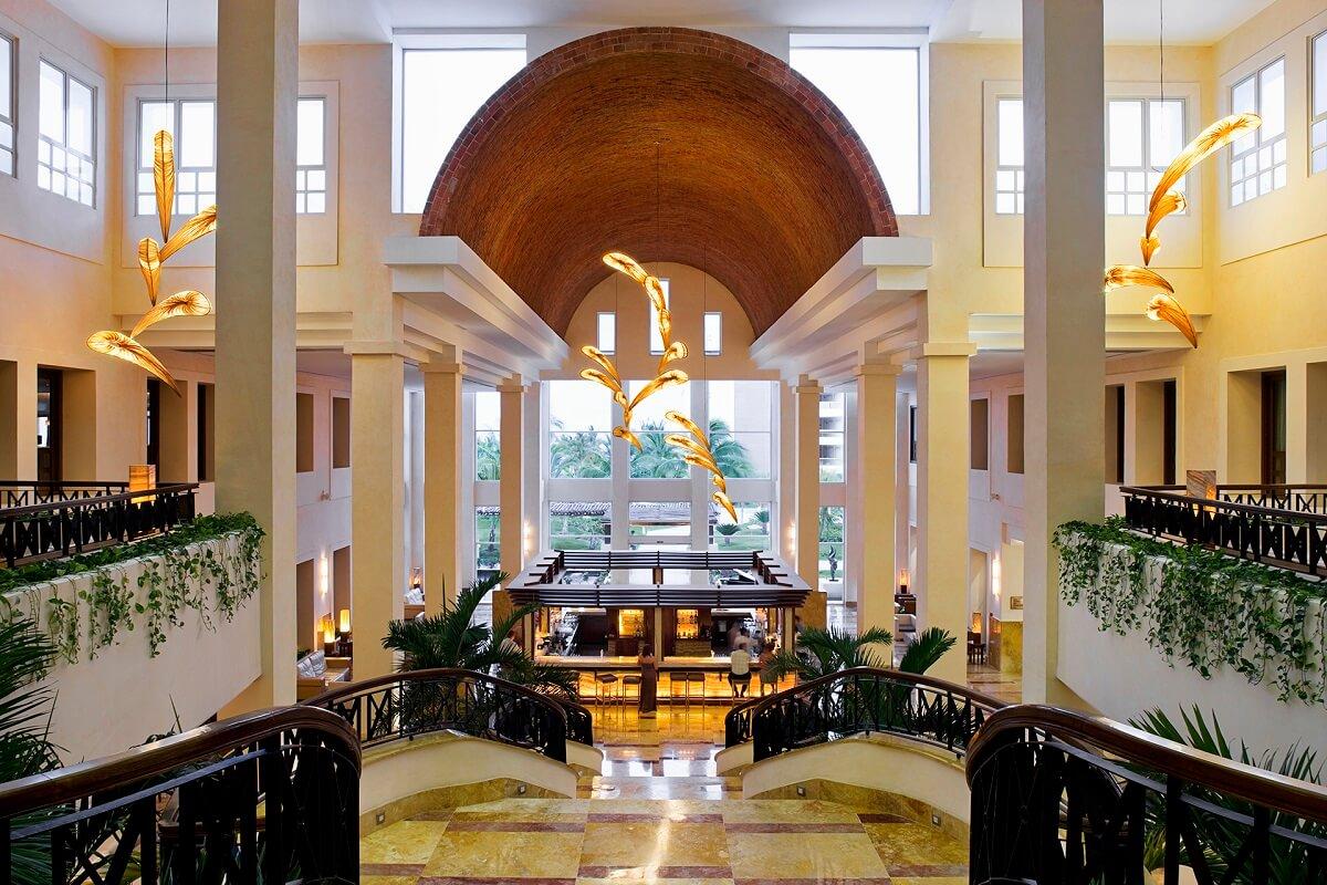 lobby area and martini bar