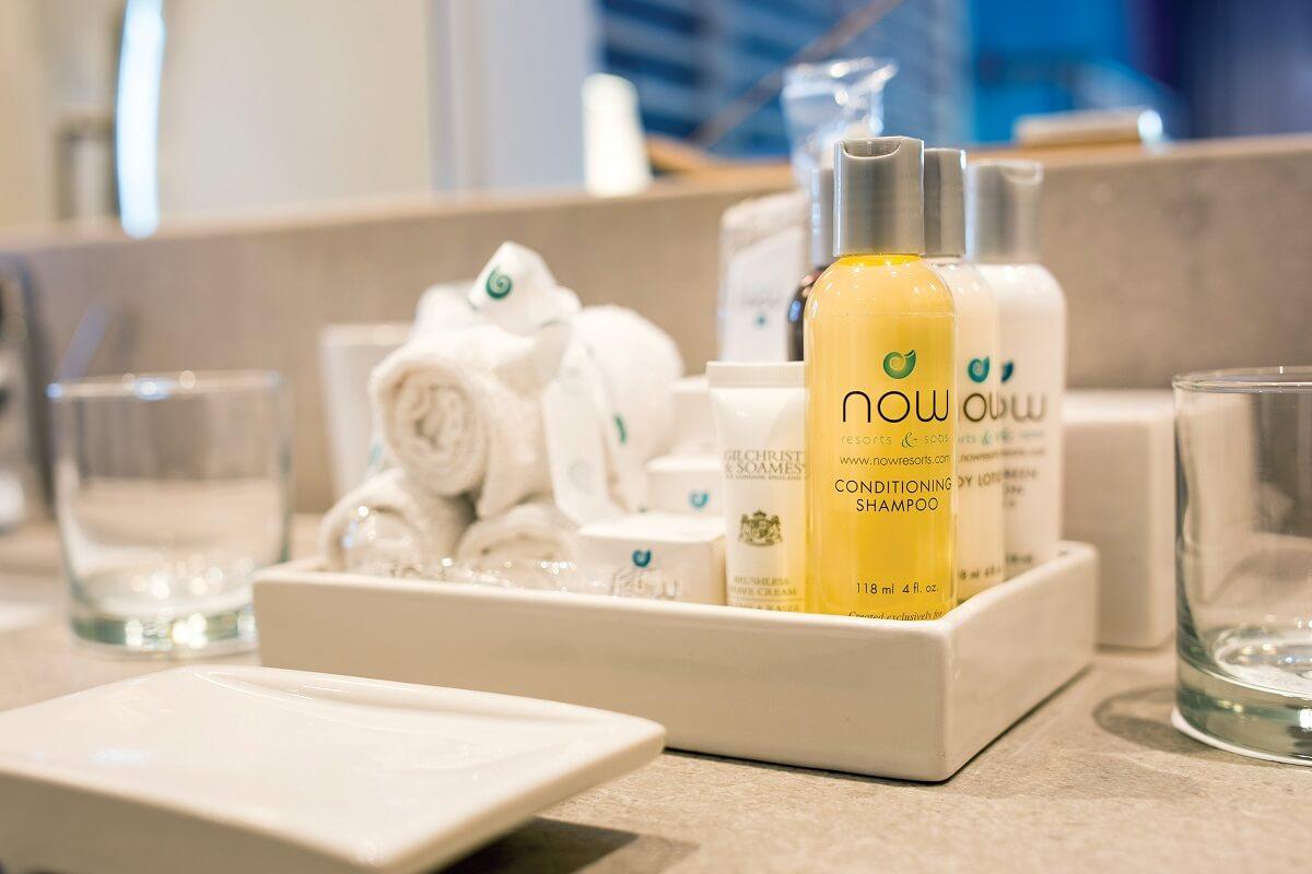 bathroom amenities Now Natura