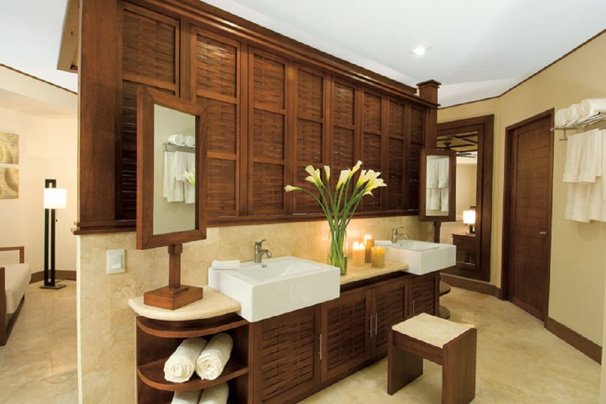 Sink area in all the rooms