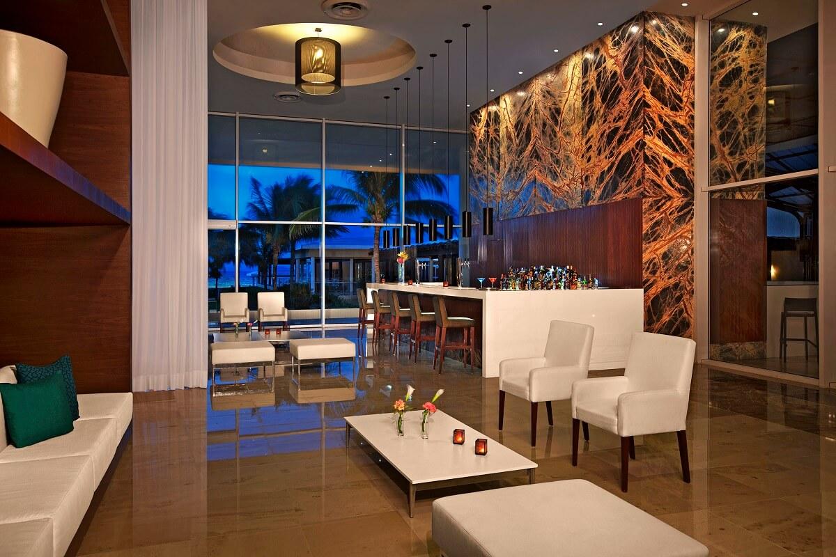 lobby area and bar now jade