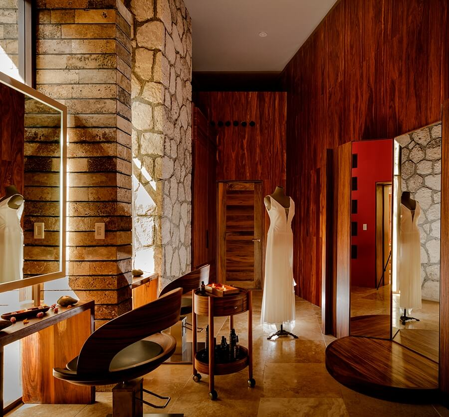 bridal suite for hotel xcaret weddings
