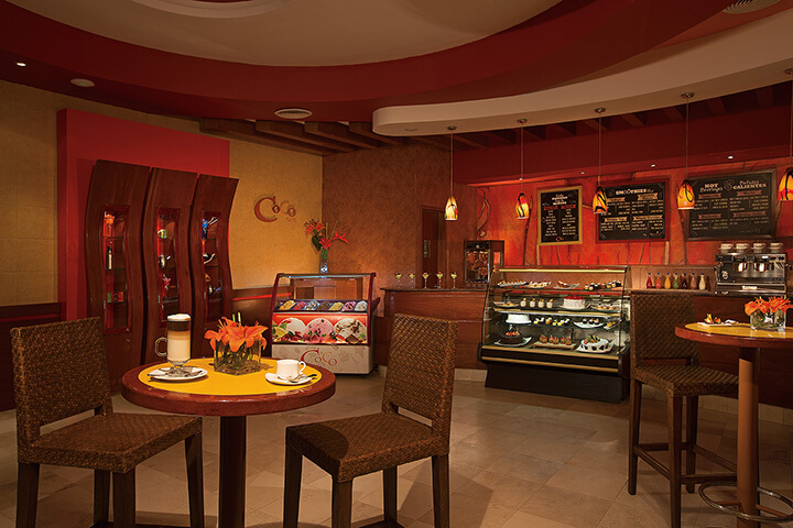 coco cafe for coffee and sweets