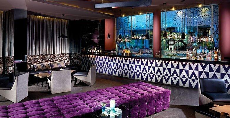 gin bar interior the fives beach