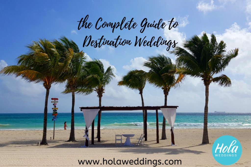 complete guide to destination weddings